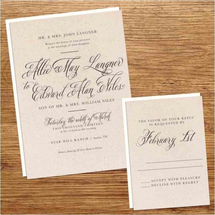 kraft paper wedding invitation kit australia vintage country feel rhneckcrickinfo best design invitaitons for your rhgoodnasscom jpg