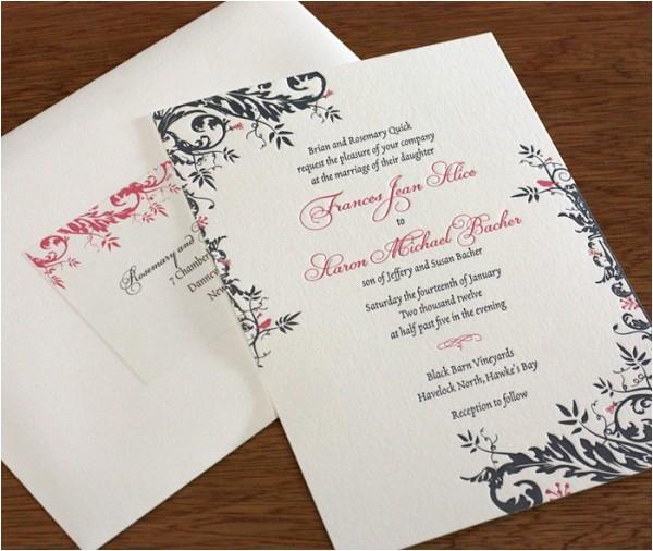 address labels wedding invitation envelopes