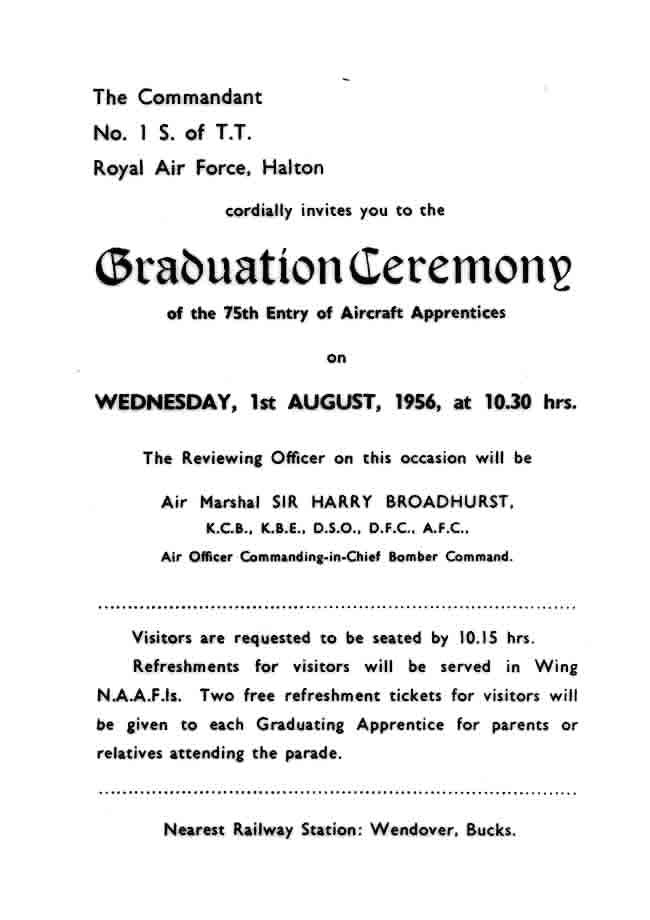 ceremony invitation l