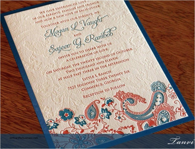 wedding invitation wording for indian hindu weddings