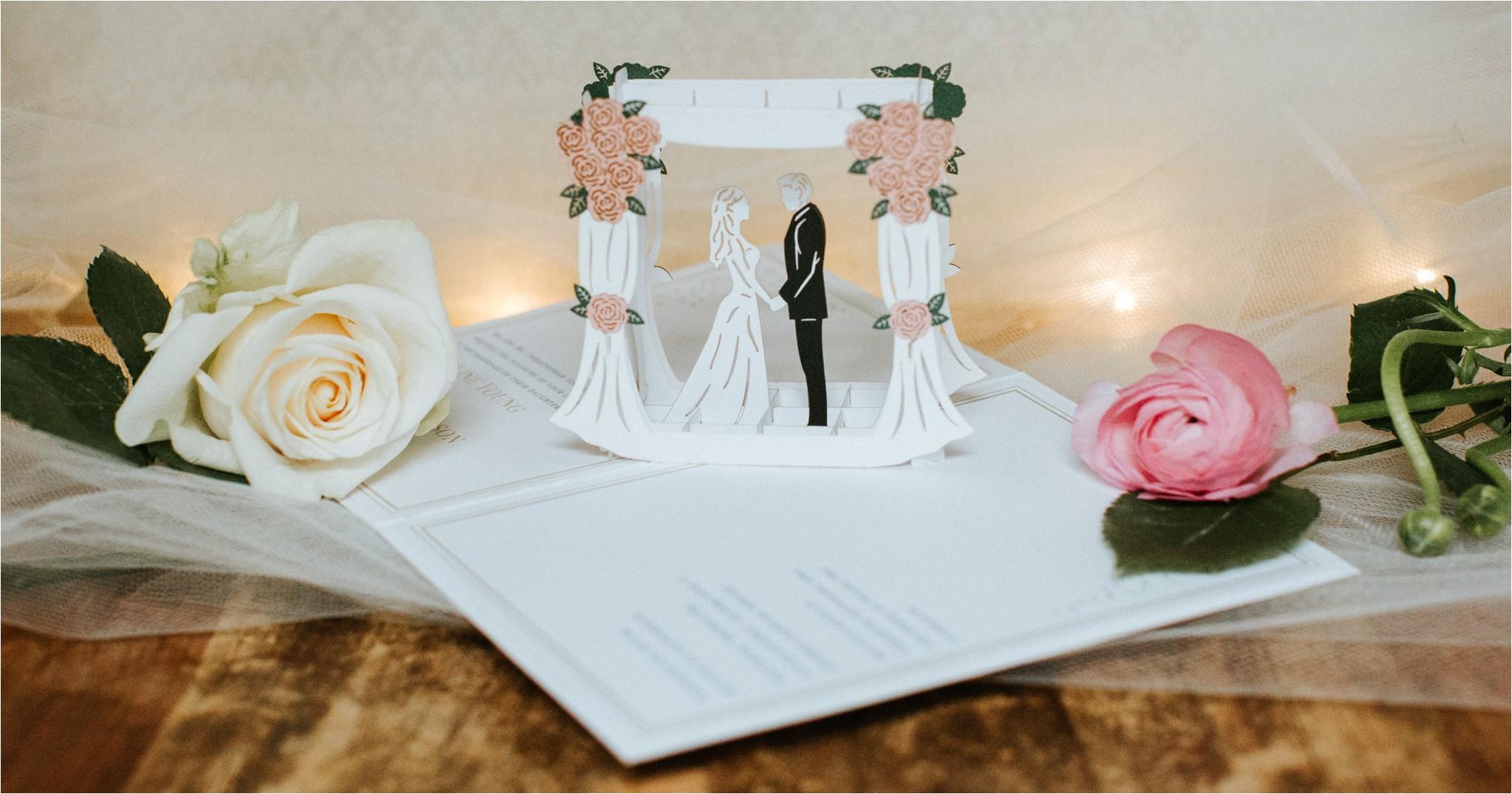 introducing lovepop wedding invitations