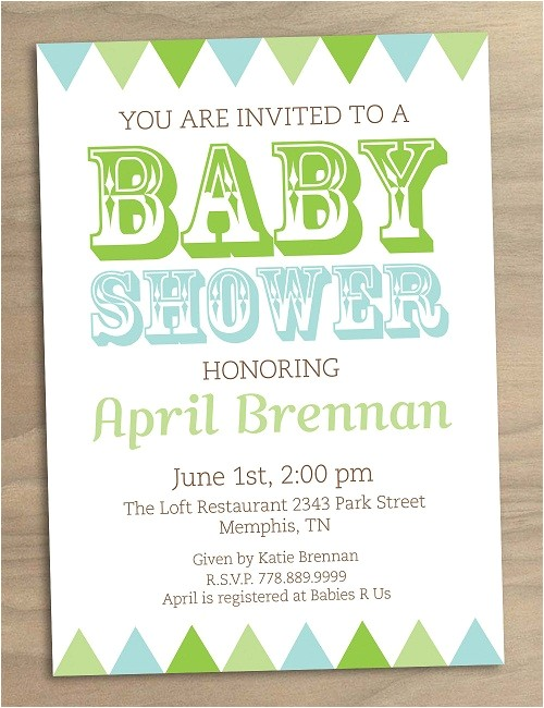 terrific low cost baby shower invitations for thank you cards