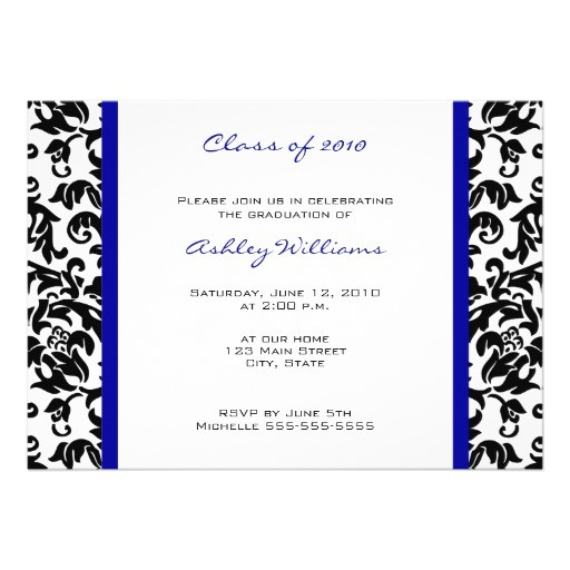 choose your own color graduation invitations 161188657277283549