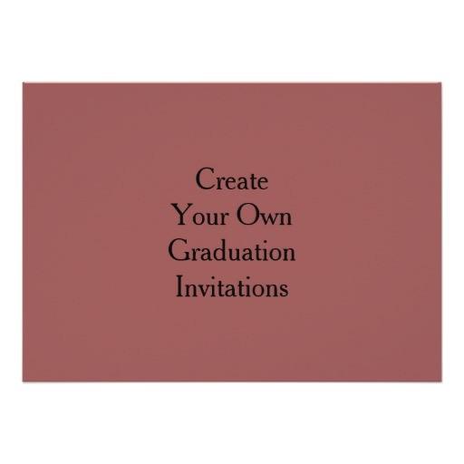 create your own graduation invitations 256038785138630268