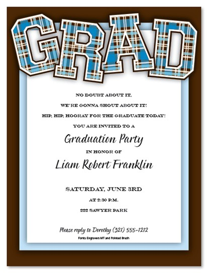 make your own graduation invitations