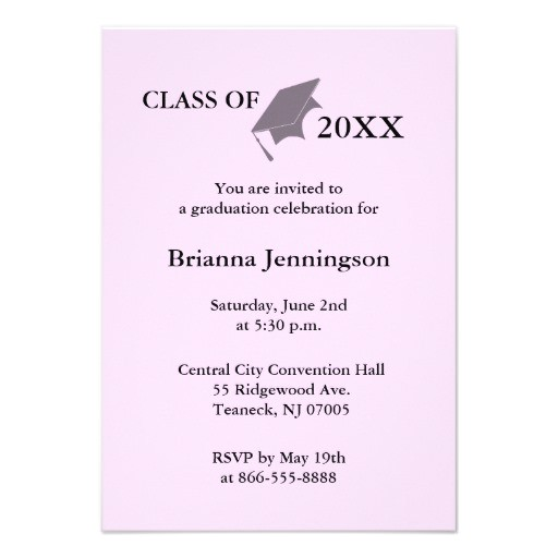 create your own graduation invitation 7 161300950850261323