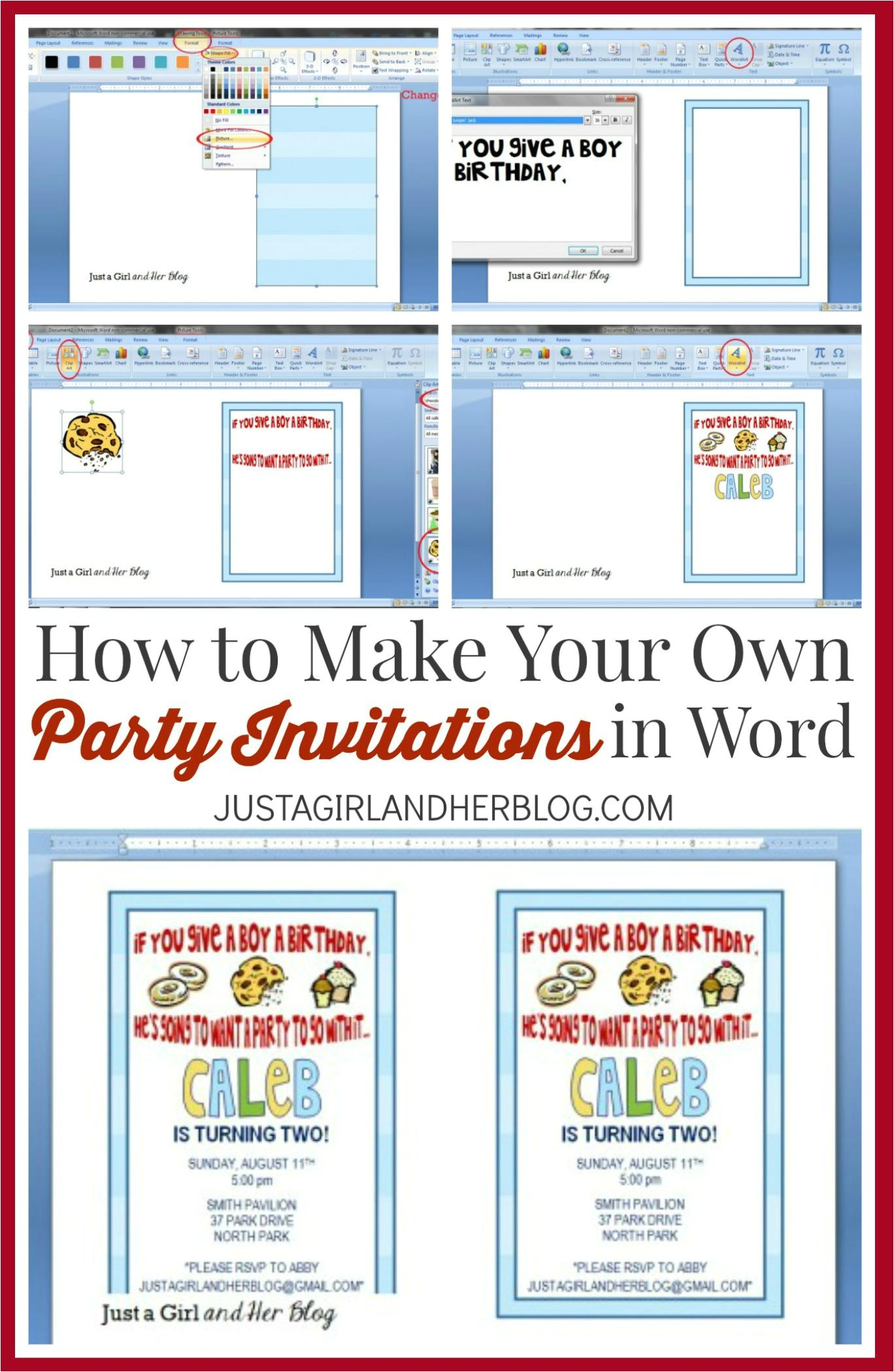 make your own graduation invitations free online