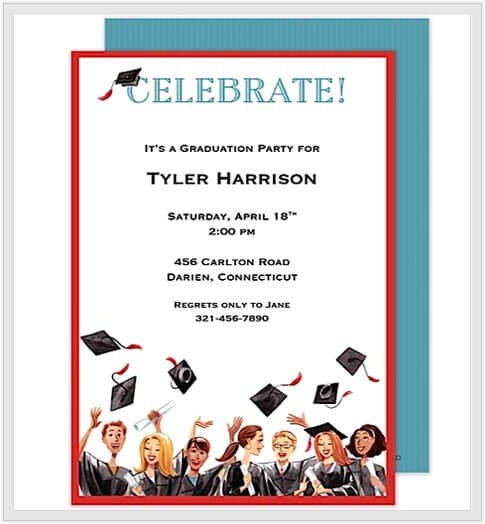 Make Your Own Graduation Party Invitations Design Your Own Graduation Party Invitations