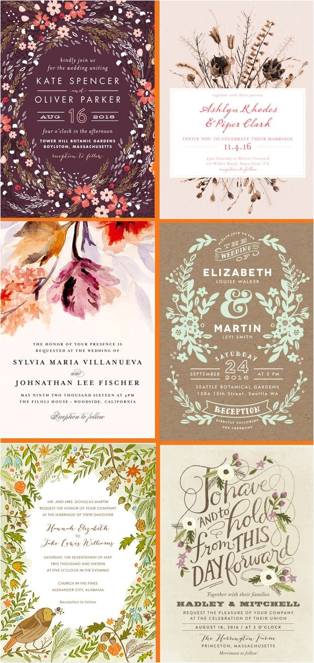 make your own wedding invitations ideas suggestions