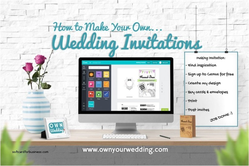 how to print my own wedding invitations