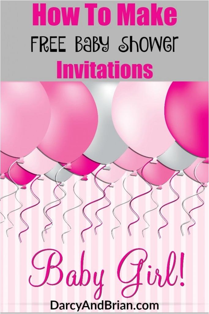 Making Baby Shower Invitations Online How to Create Free Baby Shower Invitations