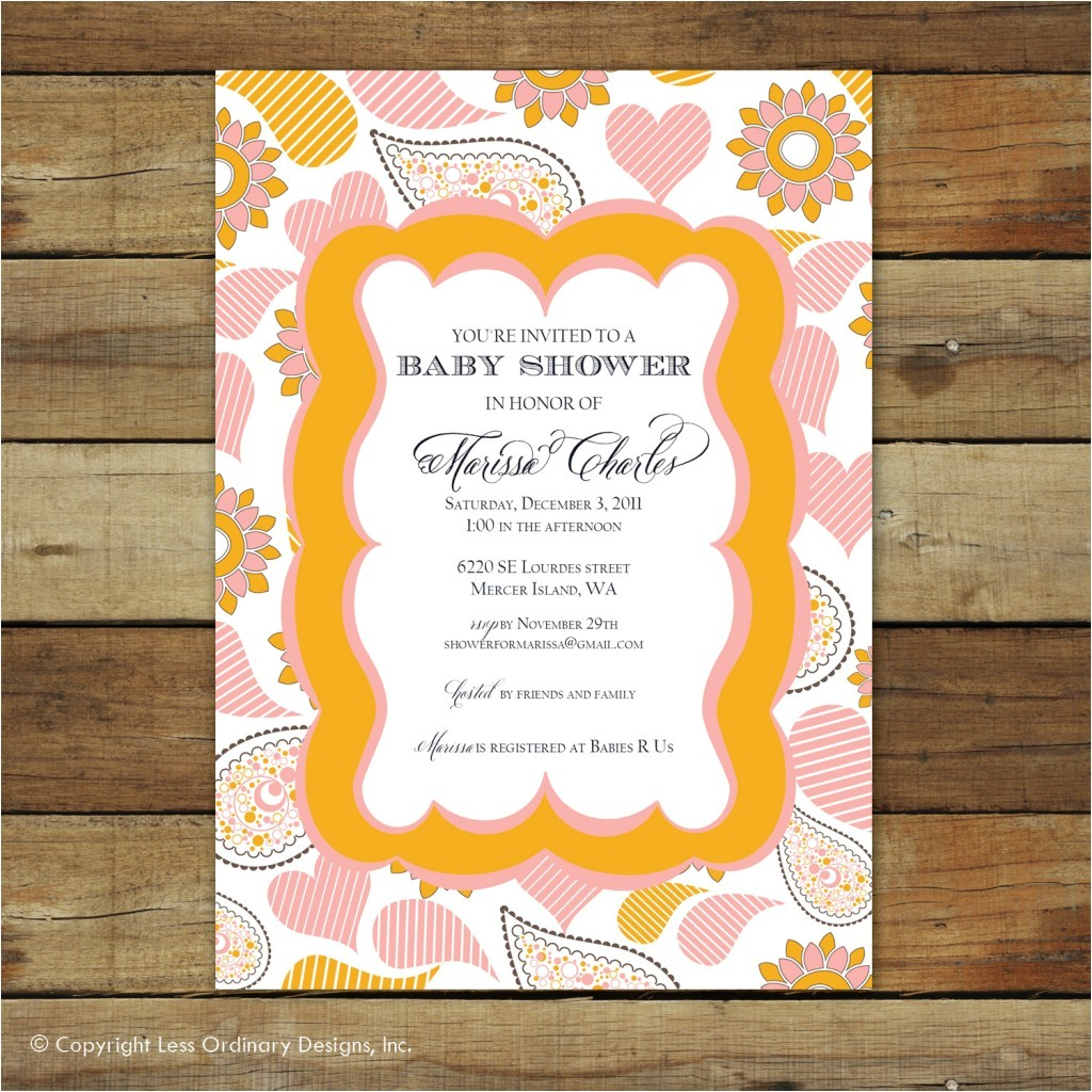 make your own baby shower invitations free printables 2