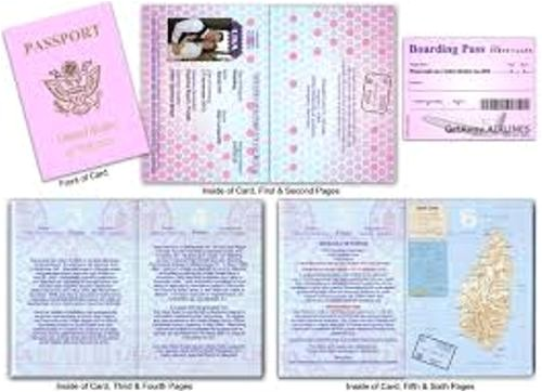 how to make your own wedding invitations look unique with passport style 6 ideas