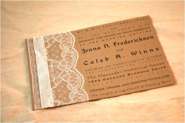 wedding invitation ideas make your own wedding invitations