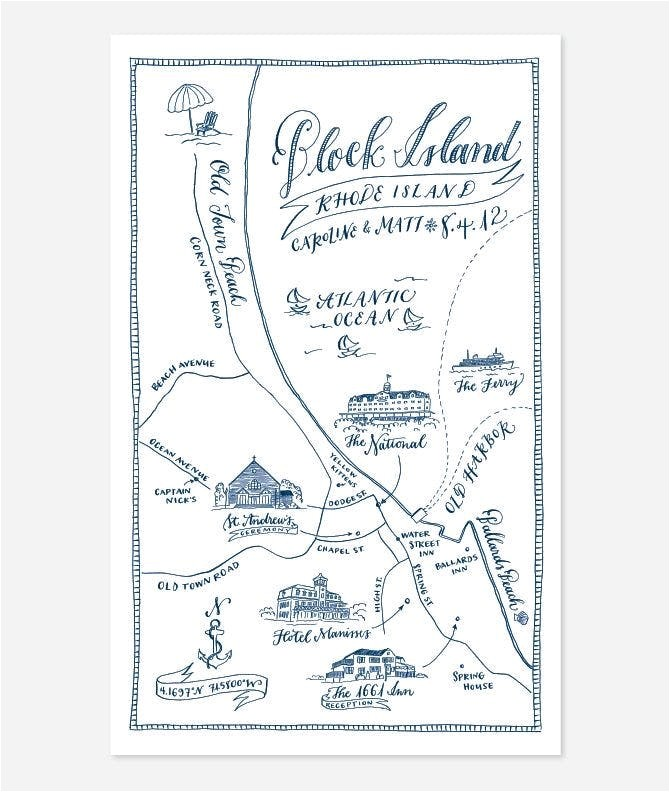 map wedding invites save the date