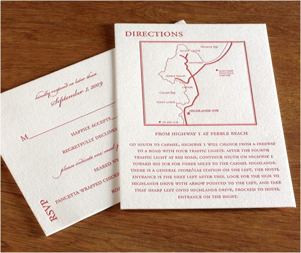 Map Cards for Wedding Invitations How to Word the Directions Card for Your Wedding