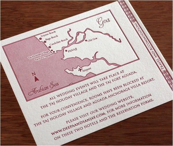 wedding invitation customization maps
