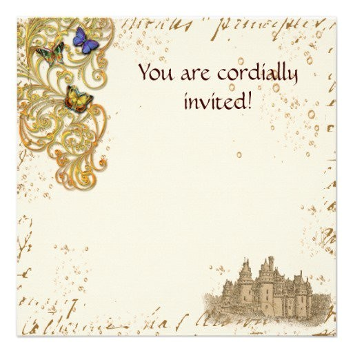 medieval wedding invitations templates