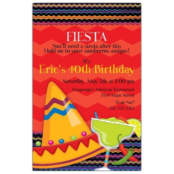 fiesta fun birthday invitations p 643 58 isn1154