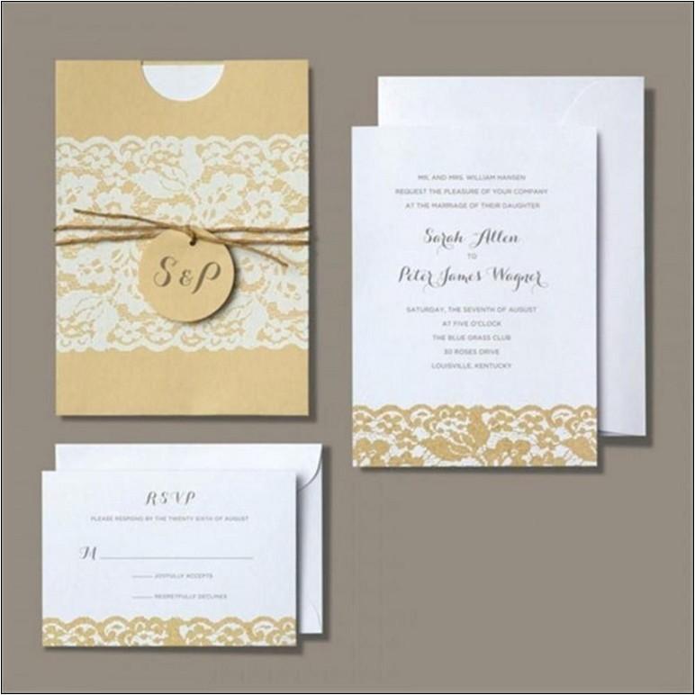 michaels wedding invitation kits price