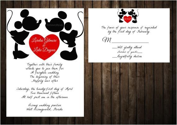 disney mickey and minnie wedding