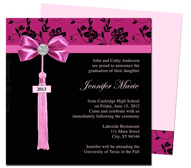 graduation announcements templates