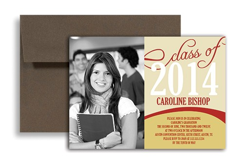 word template girl middle school graduation invitation example gi 1203