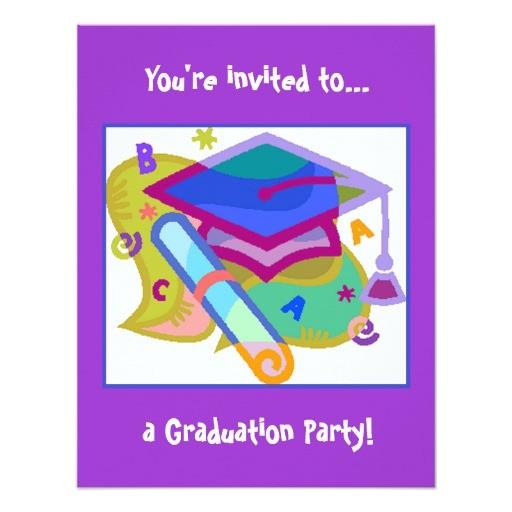 graduation party invitation grade middle school 161799160920078947
