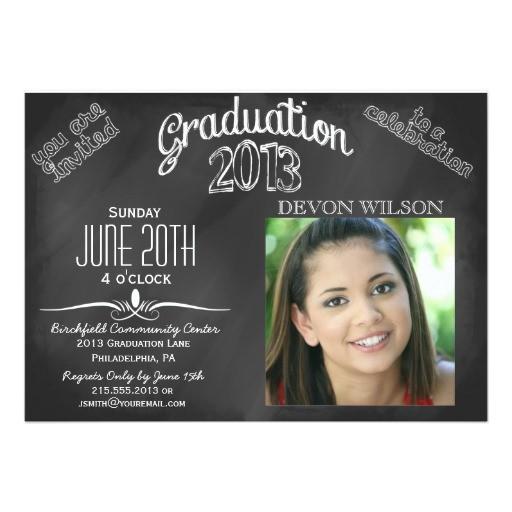 2013 middle school graduation invitations