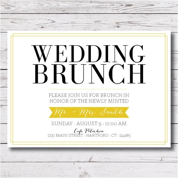printable wedding brunch morning after