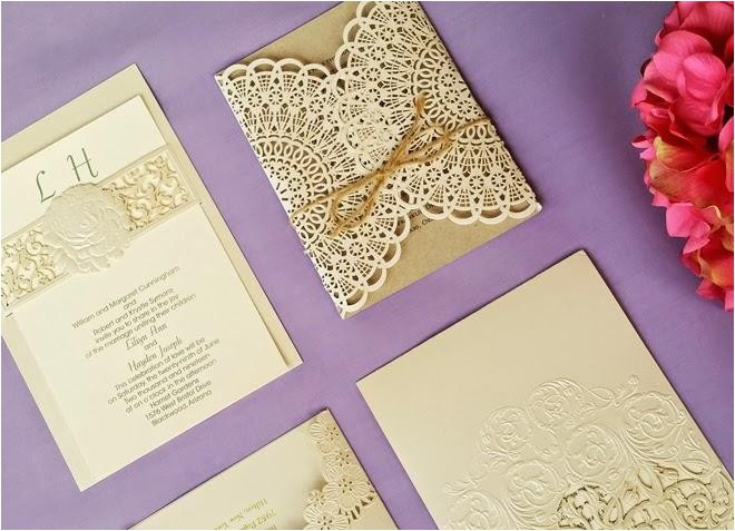 lace wedding invitations a fit for every theme bell