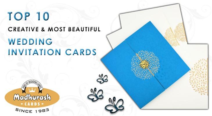 top 10 creative beautiful wedding invitation cards