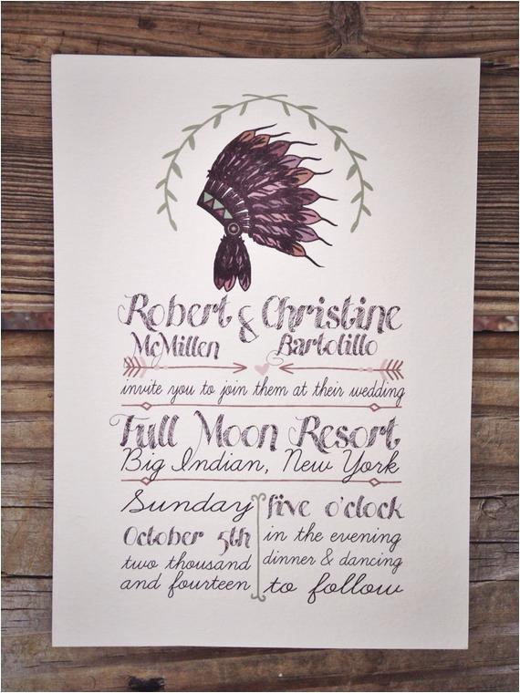 native american headdress wedding