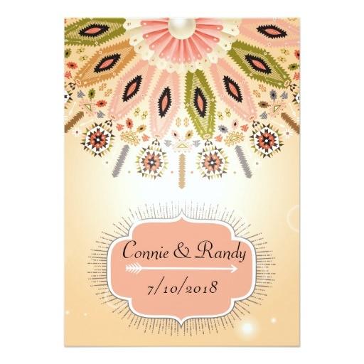 native american wedding invitation 256471420393242934