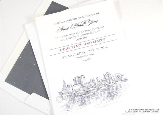 ohio state university graduation