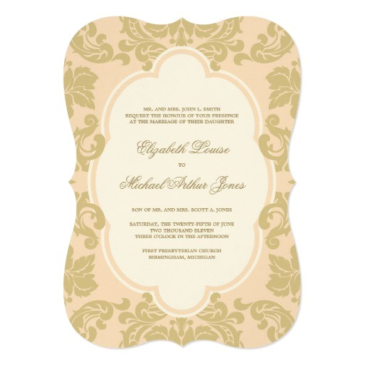 wedding invitation old hollywood glamour 161764806919407533