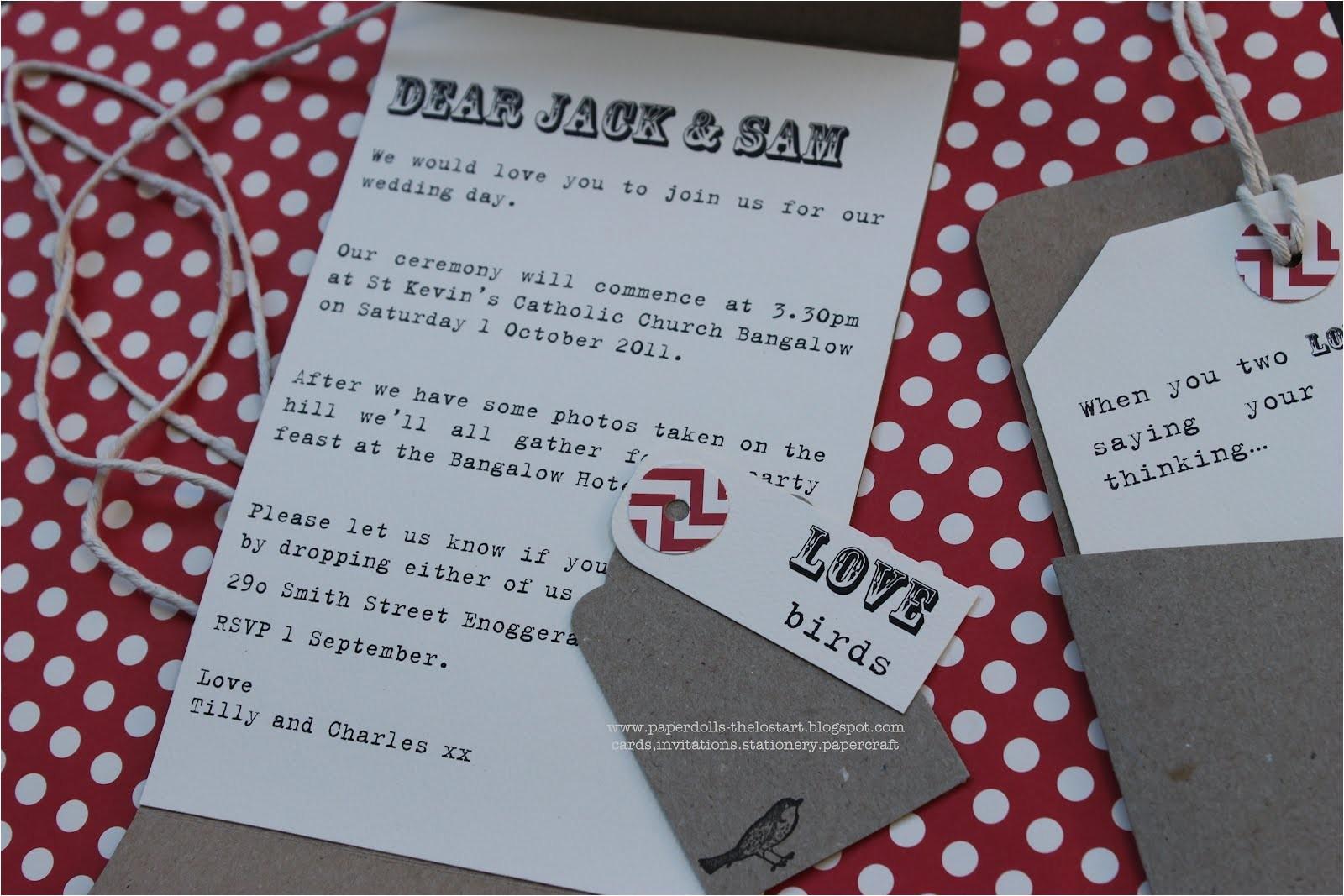 wedding invitation wording older couple