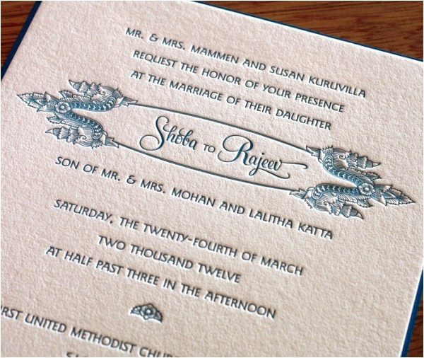 wedding invitation wording whose name first