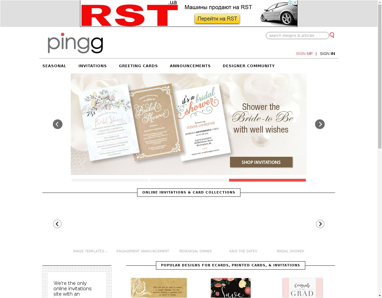 best wedding invitation websites