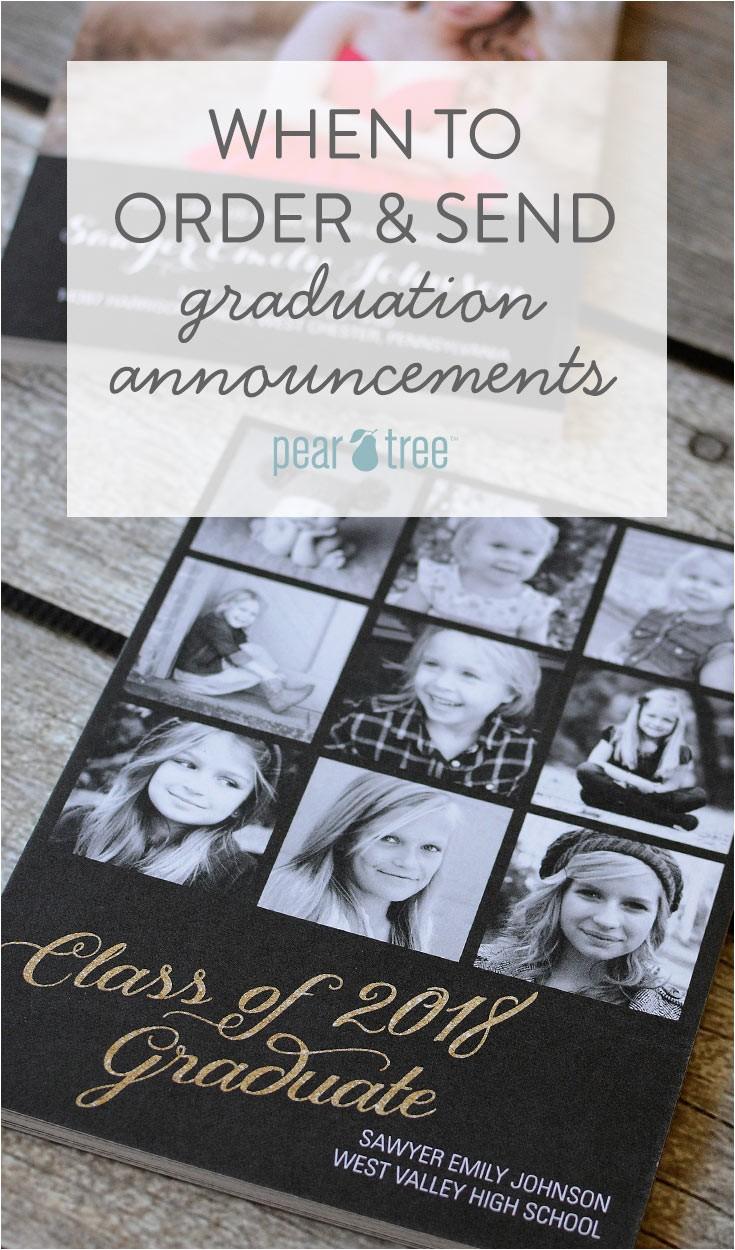 order send graduation announcements