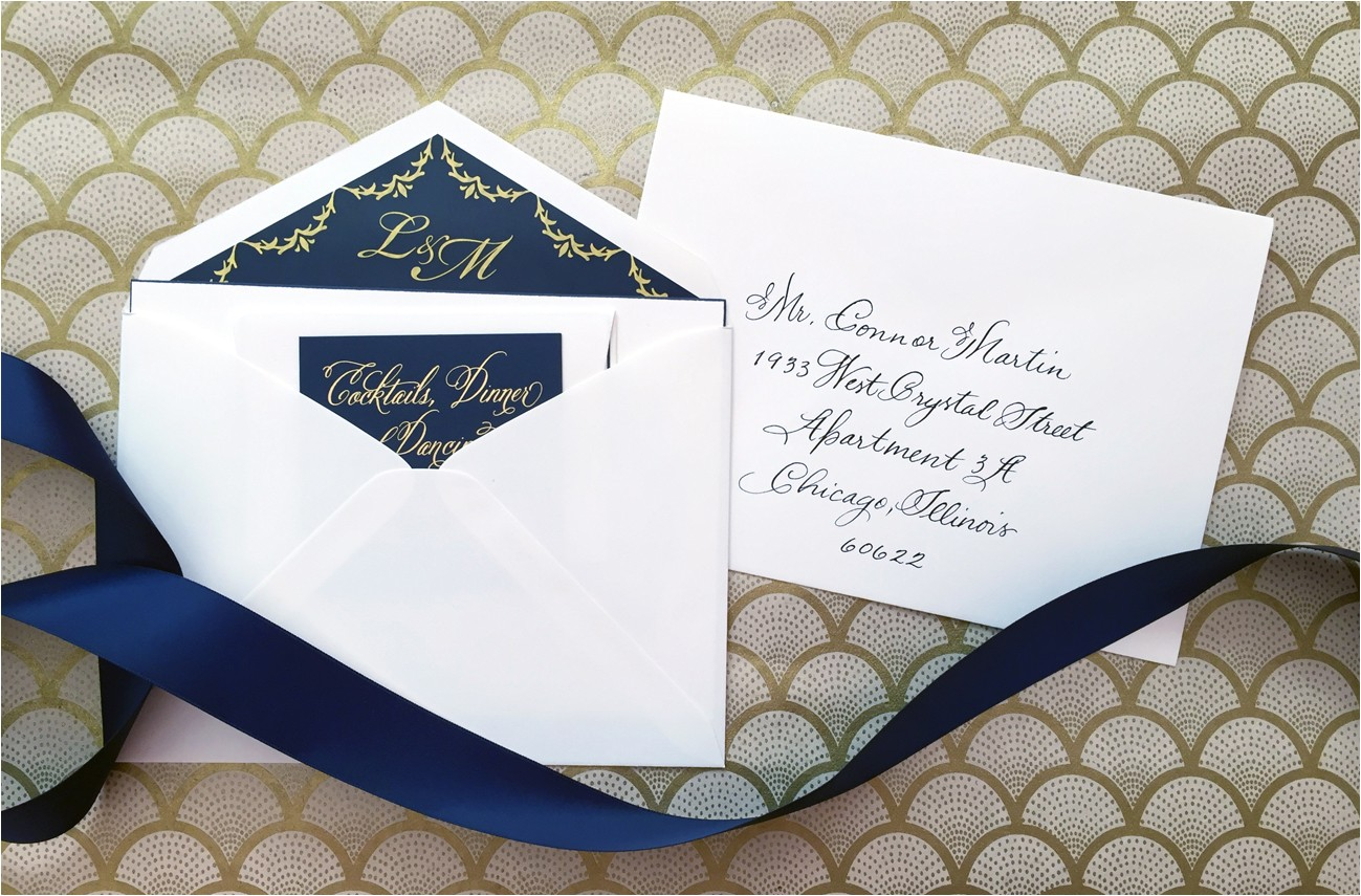wedding invitation etiquette inner and