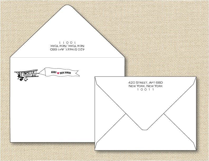 outer envelope wedding invitation etiquette