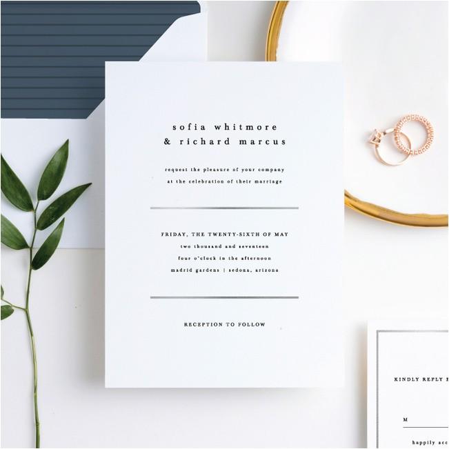 less wedding invitations p 18207