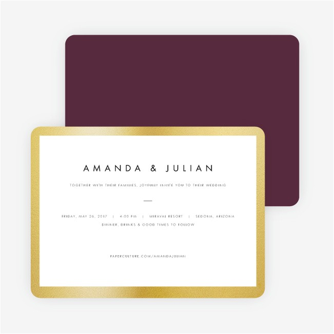 wedding frame mind wedding invitations p 16834