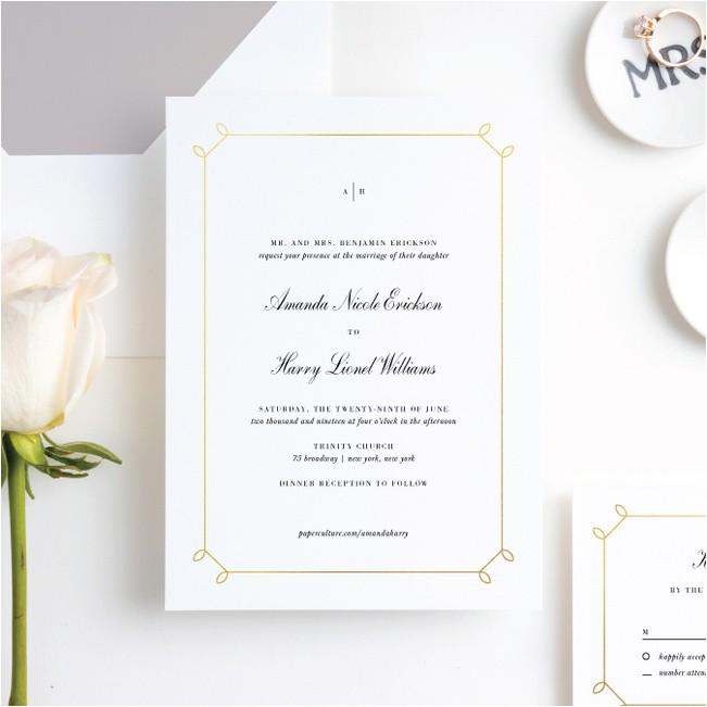 wedding invitation c 132