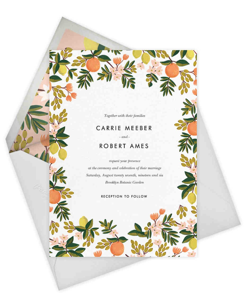 rifle paper co paperless post collection wedding stationery