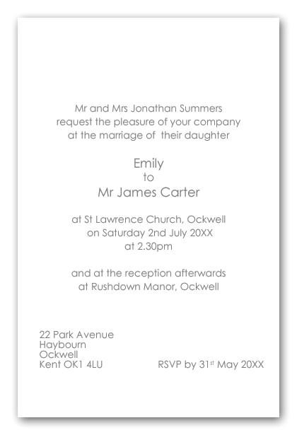 b invitation wording shtml