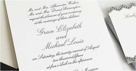 new age wedding invitation wording etiqu