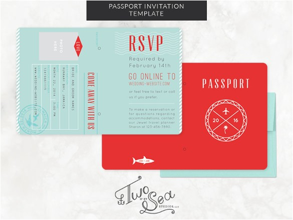 sample passport invitation
