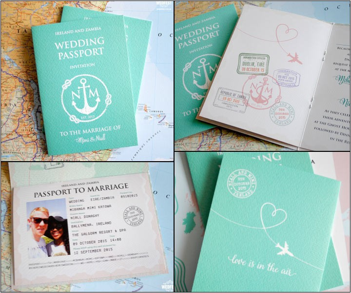 passport wedding invitations 0031233